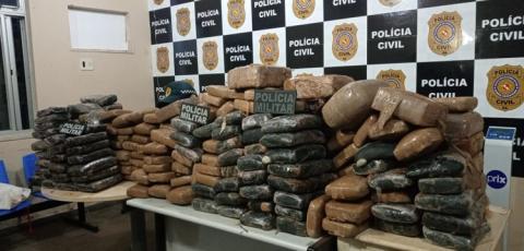 Polícia Militar faz apreensão de 294kg de droga em Santarém | Portal Obidense