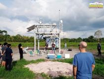 Observatório Atmosférico Passa a funcionar na região e deve disponibilizar dados sobre clima e tempo | Portal Obidense
