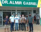 Secretário do Governo do Estado visita o Centro de saúde Dr. Almir Gabriel em Curuá – PA | Portal Obidense