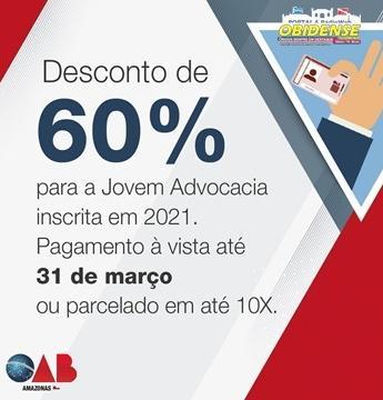 OAB-AM concede descontos de até 60% na anuidade 2021 da advocacia | Portal Obidense