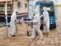 Hospital de Campanha de Santarém recebe primeiro paciente de outro município | Portal Obidense