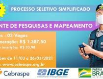 IBGE oferece vagas temporárias para função de agente de pesquisas e mapeamento em Óbidos   Portal Obidense