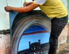 O lixo se torna arte por Ronielson Nunes | Portal Obidense