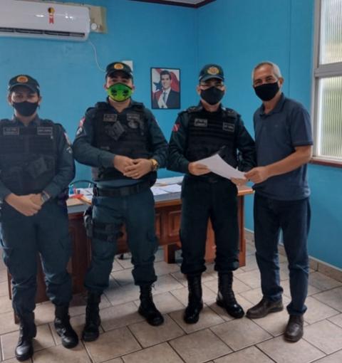 Prefeitura de Óbidos e Polícia Militar firmam parceria para melhorar a segurança da população | Portal Obidense