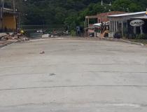 Rua Felipe dos Santos recebe trabalhos de concretagem | Portal Obidense