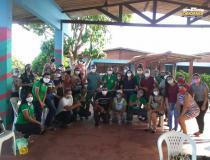 Escola Dr. Raymundo Chaves recebe roçadeira de presente | Portal Obidense