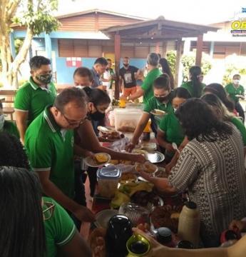 Escola Dr. Raymundo Chaves de Óbidos comemora mais 1 ano de existência | Portal Obidense