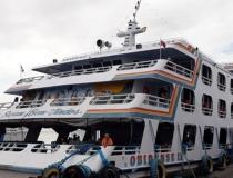Ferry Boat Obidense sofre atraso na vigem para Óbidos   Portal Obidense