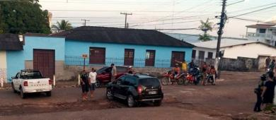 Acidente na rua Antônio Brito de Souza em Óbidos   Portal Obidense