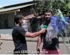 Em Juruti motociclista escapa de acidente com linha de papagaio | Portal Obidense