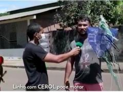 Em Juruti motociclista escapa de acidente com linha de papagaio   Portal Obidense