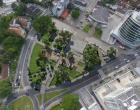 Prefeitura de Florianópolis avança no trabalho de revitalização da Praça Santos Dumont