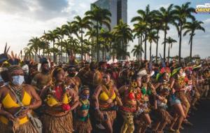 Primavera Indígena: Mulheres indígenas ocupam Brasília para reflorestar mentes   Portal Obidense