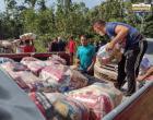 Castanheiros da Flota Trombetas recebem cestas básica da prefeitura de Óbidos | Portal Obidense