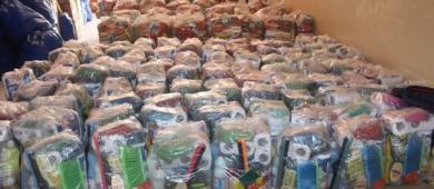 Defesa Civil realiza entrega de cestas e kits para os moradores da zona urbana | Portal Obidense