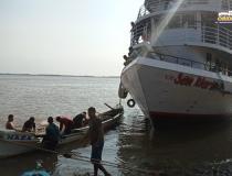 Homem continua desaparecido em acidente no Rio Amazonas   Portal Obidense