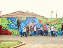 Projeto Muros com Arte chega em São Caetano com o apoio da COOP