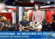 As Melhores do Povo - Portal Obidense&TV Versátil - Recebem: Banda Encante. P04.02.19.