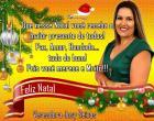 Vereadora Josy Seixas enviar mensagem de Natal e fim de ano as famílias oriximinaenses