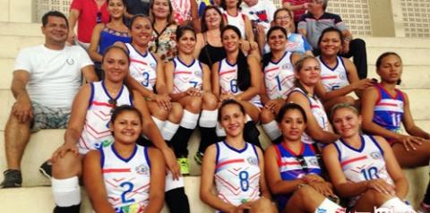Seleção obidense de vôlei feminino vence as duas primeiras partidas e garante vaga na semifinal do JOAPA