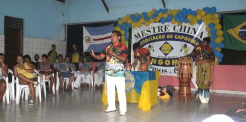 Evento de Capoeira contou com a presença de vários mestres capoeirista das diversas cidades do oeste paraense, mais o prefeito de Óbidos