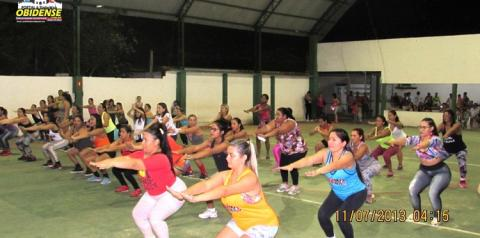 Segunda edição do Aulão de Ritmos e Zumba, promovidos pelo dançarino e coreografo Patrick Siqueira, foi um sucesso.
