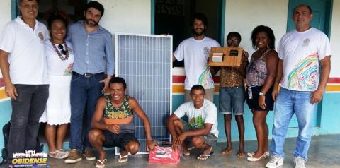 Com implantação do Plano de Vida na temática do fortalecimento institucional, quilombo de Água Fria passa a ter internet 24 horas