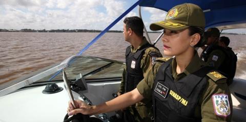 Representatividade feminina ganha força na Polícia Militar do Pará