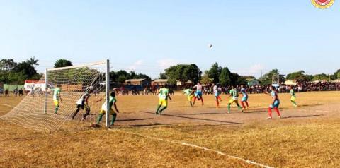 Pela Copa Oeste Curuá venceu Juruti pelo placar de 1 a 0.