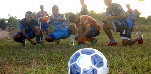 Seleção obidense se prepara para o jogo contra Juruti nesta quarta-feira (05), valido pela segunda rodada da copa oeste