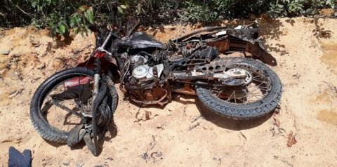 Acidente fatal na tarde deste sábado (08) na PA 439 próximo ao balneário Recanto da Mata em Oriximiná.