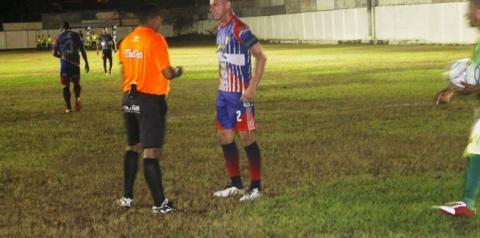Arbitro de Óbidos e Curuá, comete erro que comprometeu o resultado da partida que tinha tudo para ser o melhor jogo da competição