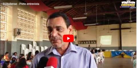 Preto Souza presidente da Câmara Municipal de Óbidos, também falou ao Portal sobre o papel do legislativo no combate da violência contra a mulher