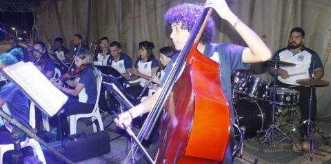 Concerto da Orquestra Filarmônica de Santarém faz apresentação cultural alusiva ao aniversário de Óbidos.