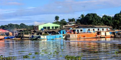 Nível do rio amazonas continua a subir em Óbidos.