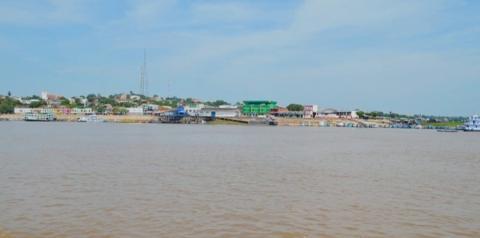 Nível do rio amazonas ultrapassa os 7 metros e 30 centímetros em Óbidos, está 76cm acima da cheia de 2018