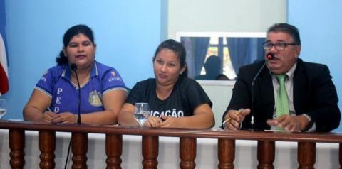 Acadêmicos da UFOPA vão a Câmara de vereadores de Óbidos pedir apoio contra contingenciamento das UF
