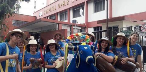 Arraial do Pavulagem faz arrastão junino no Ophir Loyola