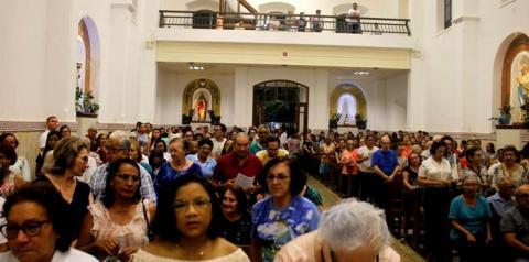 4° noite da Festividade de Sant'Ana. Recebe um grande público na celebração