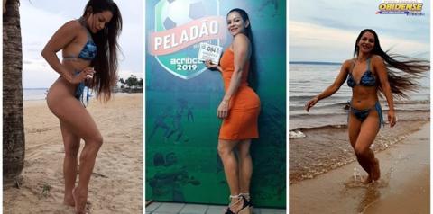 Obidense é candidata a rainha do maior campeonato de peladas do mundo I Portal Obidense