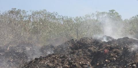 Acesso ao lixão é liberado após conversa do prefeito com moradores I Portal Obidense