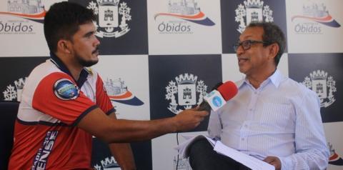 Prefeito de Óbidos fala sobre a obra de asfaltamento. Motivo de crítica constante | Portal Obidense