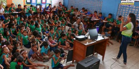 Semma inicia palestras nas escolas sobre meio ambiente   Portal Obidense