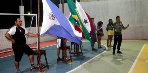 Cerimonial e inicio do Campeonato do STPMO foi o que movimentou o esporte em Óbidos   Portal Obidense