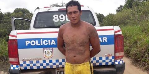 Suspeito de estupro é capturado na localidade Ramal das Varas município de Óbidos   Portal Obidense