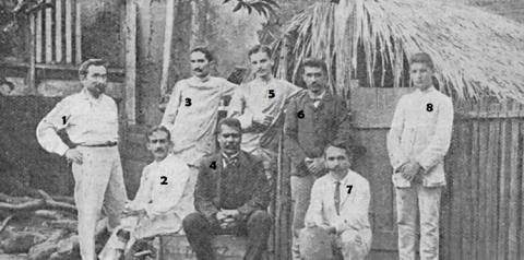 Comissão responsável pela construção do Quartel de Óbidos em 1908   Portal Obidense