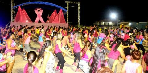 Ação de finalização da campanha outubro Rosa e inicio da campanha Novembro Azul aconteceu em Óbidos | Portal Obidense