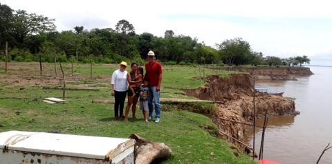 Fenômeno das terras caídas na Costa do Parú em Óbidos – PA   Portal Obidense