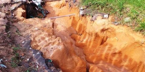 Infraestrutura vulnerável a chuva | Portal Obidense