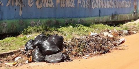 Sem coleta, lixos domésticos ficam as amostras pelas ruas de Óbidos   Portal Obidense